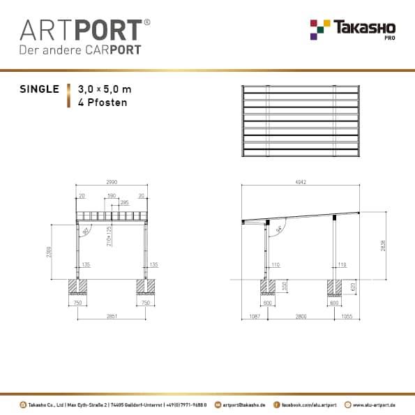 ARTPORT technische Zeichnungen